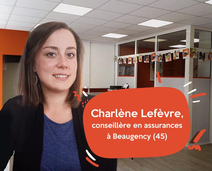 Charlène Lefèvre, conseillère en assurances