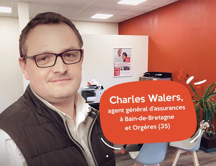 Charles Walers, agent général d'assurances