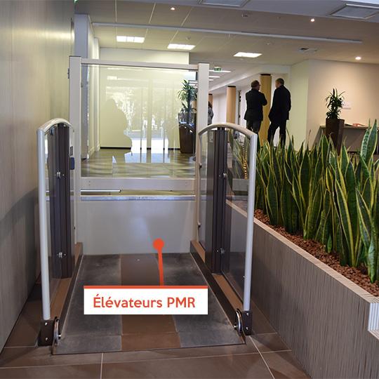 Elévateurs PMR - En situation de handicap